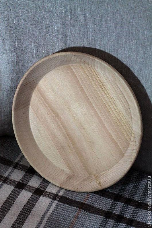 Кухня ручной работы. Ярмарка Мастеров - ручная работа. Купить Тарелка из кедра большая (блюдо). Handmade. Деревянная посуда