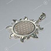Amulet handmade. Livemaster - original item The flower of Life in the Sun. Handmade.