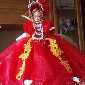Куклы и пупсы ручной работы. Ярмарка Мастеров - ручная работа Кукла-шкатулка. Handmade.