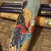 Сувениры и подарки ручной работы. Ярмарка Мастеров - ручная работа Магнит У маяка. Handmade.