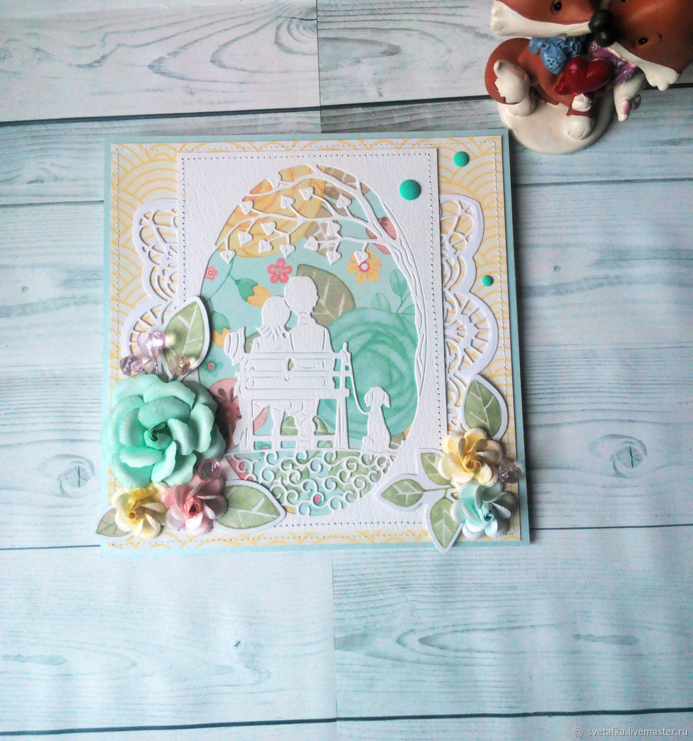 !The handmade card. On all occasions. About love, Cards, Mytishchi,  Фото №1