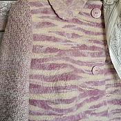 """Одежда ручной работы. Ярмарка Мастеров - ручная работа Жакет-кокон  войлок """" Комфорт"""". Handmade."""