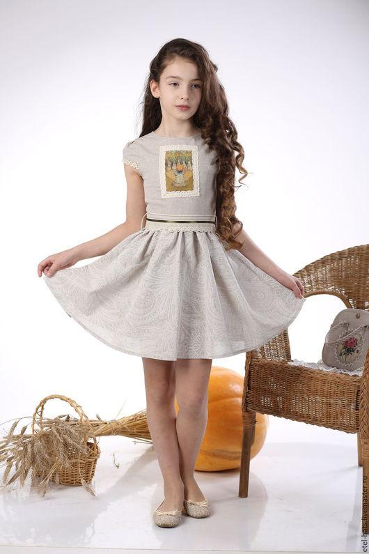"""Одежда для девочек, ручной работы. Ярмарка Мастеров - ручная работа. Купить платье для девочки """"Анабель"""". Handmade. Платье, платье летнее"""