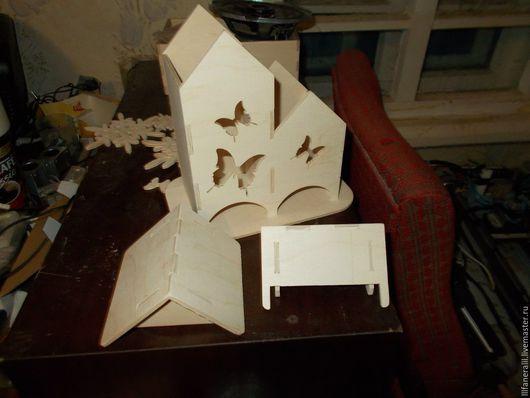 Кухня ручной работы. Ярмарка Мастеров - ручная работа. Купить чайный домик. Handmade. Комбинированный, Декупаж, фанера 4 мм