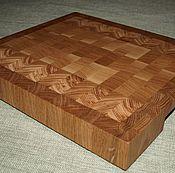Для дома и интерьера handmade. Livemaster - original item Board end cutting. Handmade.