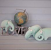Куклы и игрушки ручной работы. Ярмарка Мастеров - ручная работа Слон-завиток. Handmade.