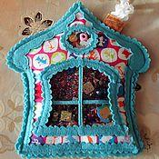 """Куклы и игрушки ручной работы. Ярмарка Мастеров - ручная работа Искалочка """"Домик"""". Handmade."""