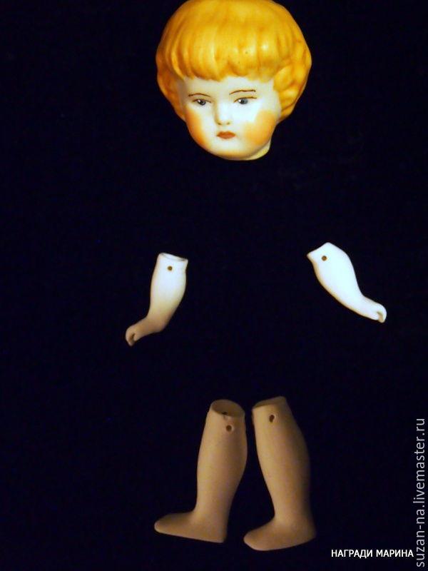 Как самим сделать куклу из фарфора