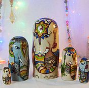 Русский стиль handmade. Livemaster - original item Dolls Elephant. Handmade.