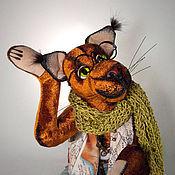 Подарки к праздникам ручной работы. Ярмарка Мастеров - ручная работа Кот-Каракал Томас. Handmade.