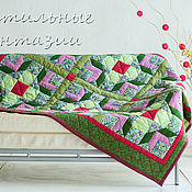 Для дома и интерьера handmade. Livemaster - original item The blanket flower Bed with tulips. Handmade.