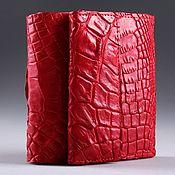 Сумки и аксессуары handmade. Livemaster - original item Wallet crocodile leather IMA0123R5. Handmade.
