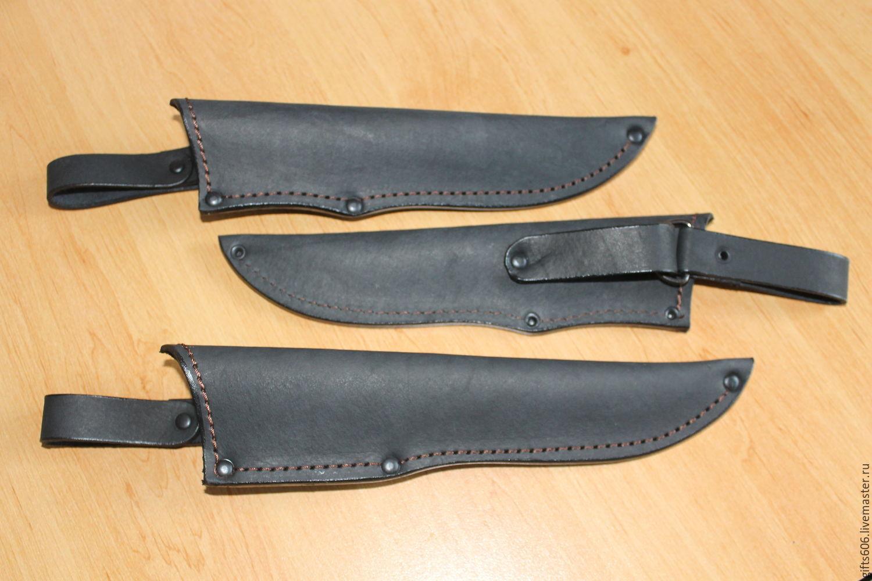 кожаные ножны для ножа самодельные фото масляный