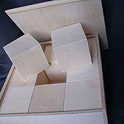 Материалы для творчества ручной работы. Ярмарка Мастеров - ручная работа Набор кубиков в коробке.. Handmade.