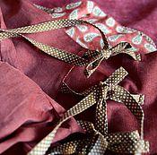 Одежда ручной работы. Ярмарка Мастеров - ручная работа Бохо юбка с запАхом, красивым кармашком. Handmade.