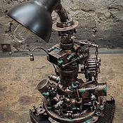 Для дома и интерьера ручной работы. Ярмарка Мастеров - ручная работа Лампа ТехноАрт (Machinarium). Handmade.