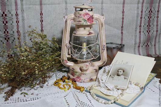 """Освещение ручной работы. Ярмарка Мастеров - ручная работа. Купить Лампа """"Воспоминания"""". Handmade. Бледно-розовый, подарок на день рождения"""