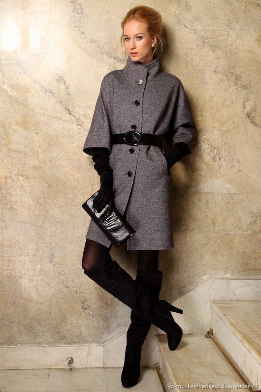 Красивое необычное женское пальто фото конечно