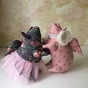 Куклы и игрушки handmade. Livemaster - original item Pig ballerina. Handmade.
