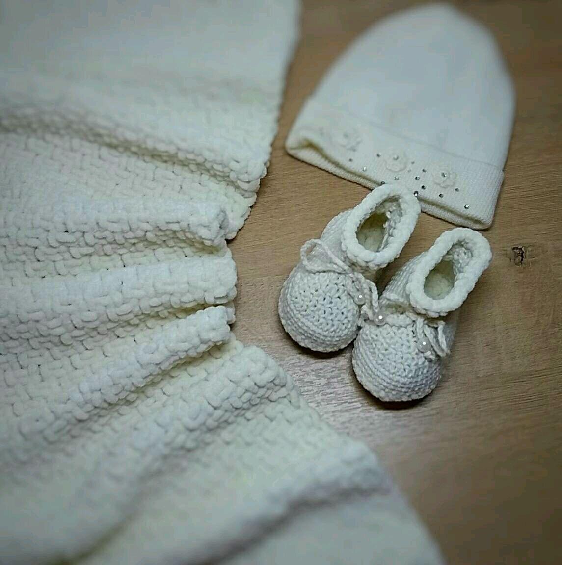 Пинетки ручной работы на размеры ножки до 1год, пинетки из полухлопка, Пинетки, Назрань, Фото №1