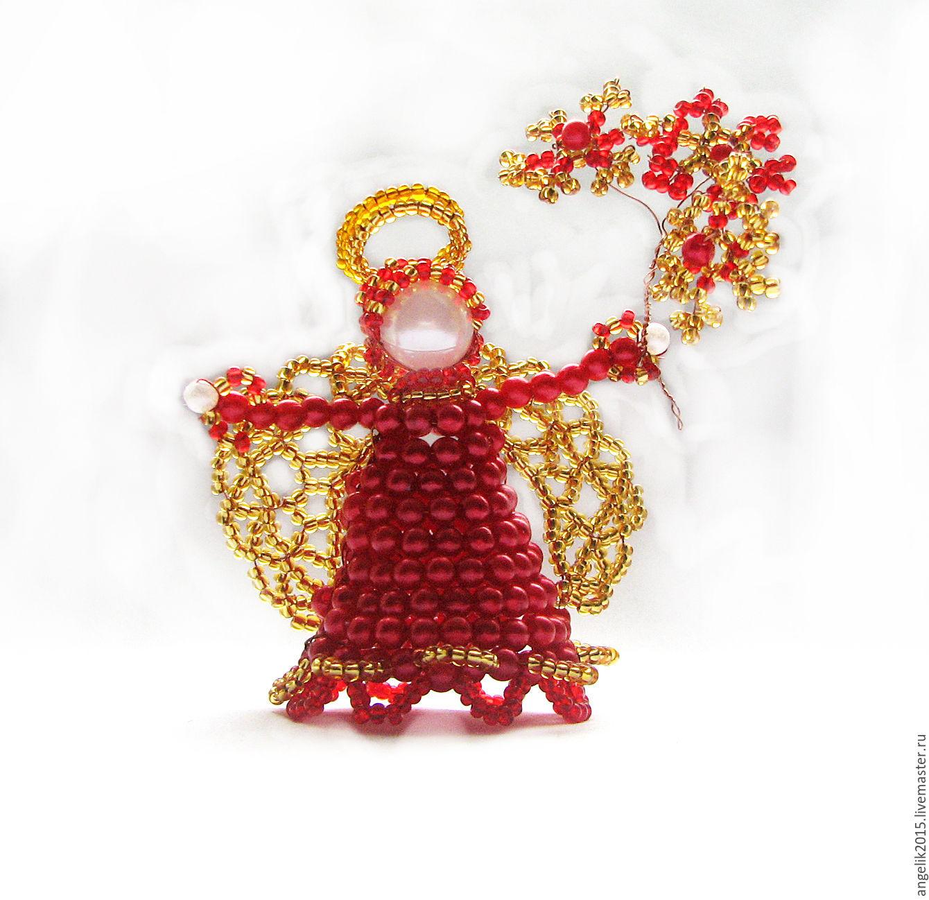 Сувениры своими руками с бисера