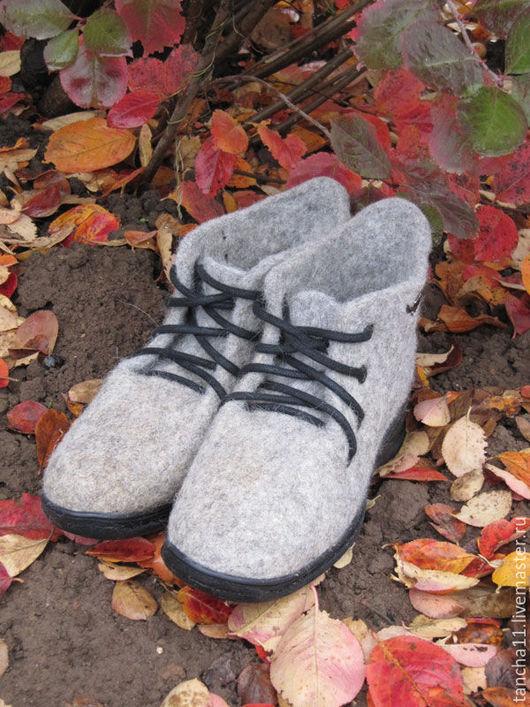 Полуботинки женские `Вне моды`, купить полуботинки женские `Вне моды`, ботинки женские ручной работы, ботинки на заказ, ботинки из натуральной шерсти