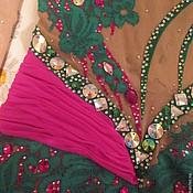 Одежда ручной работы. Ярмарка Мастеров - ручная работа Купальник для художественной гимнастики, танцевальный купальник, худож. Handmade.