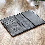 Сумки и аксессуары handmade. Livemaster - original item Cover for a passport from Python. Handmade.