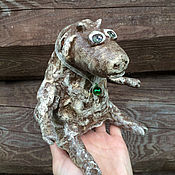 Куклы и игрушки ручной работы. Ярмарка Мастеров - ручная работа Овечка Маруся из папье-маше. Handmade.