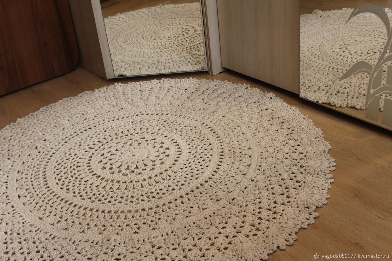 Round cotton carpet, Carpets, Kaluga,  Фото №1