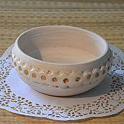 """Посуда ручной работы. Ярмарка Мастеров - ручная работа Мисочка """"Зигзаг"""". Handmade."""