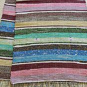 Для дома и интерьера ручной работы. Ярмарка Мастеров - ручная работа Половик ручного ткачества (№ 140). Handmade.
