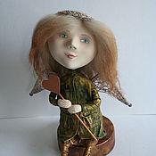 Куклы и игрушки ручной работы. Ярмарка Мастеров - ручная работа Маленький Ангел с сердечком. Handmade.