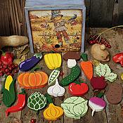 """Куклы и игрушки ручной работы. Ярмарка Мастеров - ручная работа Игровой набор """"Урожай"""". Handmade."""