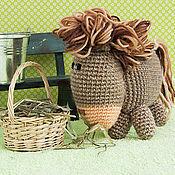Куклы и игрушки ручной работы. Ярмарка Мастеров - ручная работа Лошадка вязаная.. Handmade.