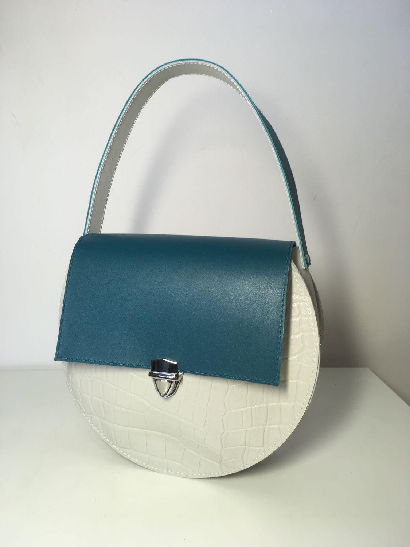 457df62c6b97 Круглая женская сумка Hari – купить в интернет-магазине на Ярмарке ...