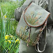 Сумки и аксессуары handmade. Livemaster - original item Textile backpack