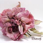 Цветы и флористика handmade. Livemaster - original item Silk rose