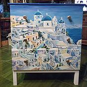 Для дома и интерьера handmade. Livemaster - original item Chest GREEK CITY. Handmade.