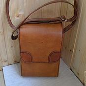 Сумки и аксессуары handmade. Livemaster - original item Handbag leather. tablet. Handmade.