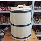 Дача и сад handmade. Livemaster - original item The barrel is made of cedar for pickling 50 l. the water barrel. Handmade.