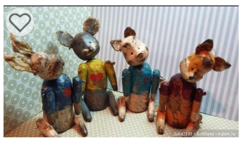Деревянные игрушки, Миниатюрные игрушки, Архангельск, Фото №1