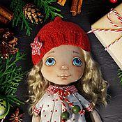 Куклы и пупсы ручной работы. Ярмарка Мастеров - ручная работа Новогодняя гномочка. Handmade.