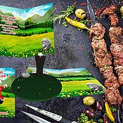 """Открытки ручной работы. Ярмарка Мастеров - ручная работа """"Кавказское поздравление"""". Handmade."""