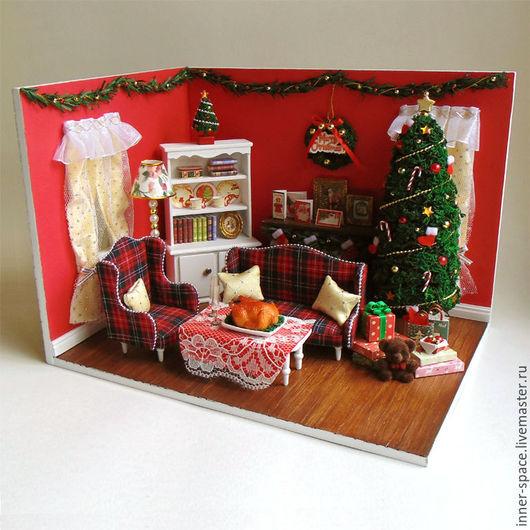 новогодний румбокс рождественский румбокс купить в москве кукольный дом купить кукольный дом интернет магазин кукольный дом домик для кукол кукольные дома для девочек дом мечты румбокс для кукол румбо