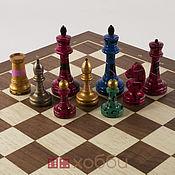 Активный отдых и развлечения handmade. Livemaster - original item Chess painted