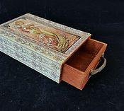 Для дома и интерьера handmade. Livemaster - original item Box-box,Spring, box-container. Handmade.