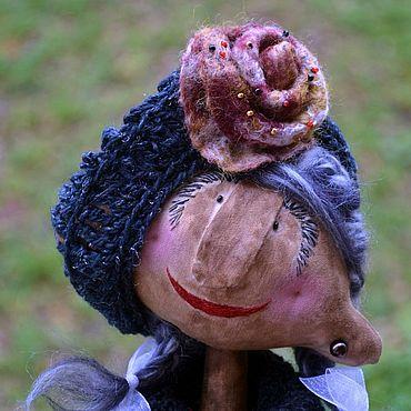 Куклы и игрушки ручной работы. Ярмарка Мастеров - ручная работа Гори, гори, Моя звезда.. Кукла в подарок Душе Чердачная Текстильная. Handmade.