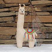 handmade. Livemaster - original item Lama-mountain beauty. Handmade.