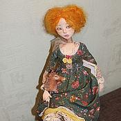 Куклы и игрушки ручной работы. Ярмарка Мастеров - ручная работа Интерьерная кукла  Виолетта.. Handmade.